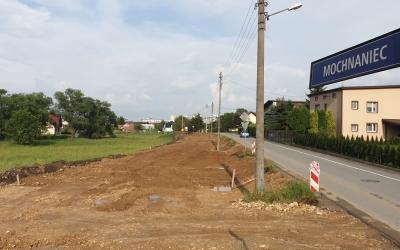 Ruszyła przebudowa ulicy Mochnaniec